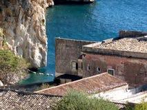 Sicily seascape, Tonnara Scopello Stock Photography