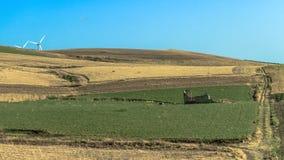 Sicily Summer Landscape Stock Images