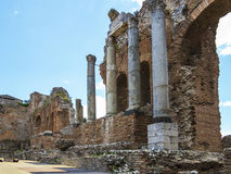 Sicily, Taormina panorama Royalty Free Stock Photo