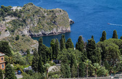 Sicily, Taormina panorama Stock Photo