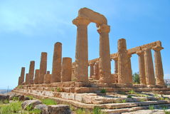 Sicily - Valle dei templi Stock Photos