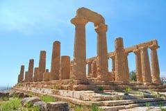 Sicily - Valle dei templi Stock Photos
