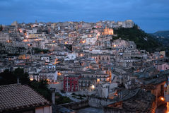 Sicily, view of Ragusa Ibla Royalty Free Stock Images