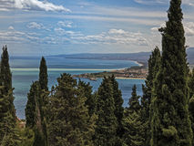 Sicily, view from Taormina Stock Photo