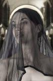 Sicily widow Stock Photography