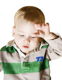 sick baby Stock Photography