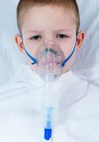 Sick boy Stock Photography