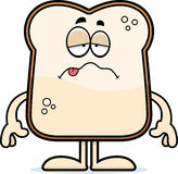 Sick Cartoon Bread Stock Images
