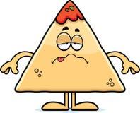 Sick Cartoon Chips and Salsa Royalty Free Stock Photos