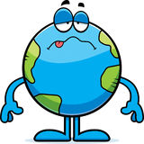 Sick Cartoon Earth Stock Images