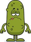 Sick Cartoon Pickle Stock Photography