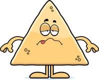 Sick Cartoon Tortilla Chip Stock Photos
