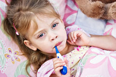 Sick Child Royalty Free Stock Image
