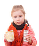 Sick child Royalty Free Stock Photography