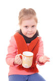 Sick child. Royalty Free Stock Images