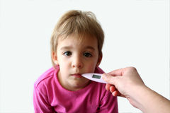 Sick Child 2 Stock Image