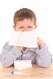 Sick child Royalty Free Stock Images