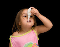 Sick Child Stock Photography
