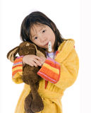 Sick Child Royalty Free Stock Image