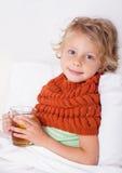 Sick child Stock Images