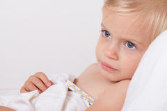 Sick child Royalty Free Stock Photo