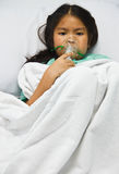 Sick children. Royalty Free Stock Photo