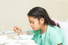 Sick children Stock Photo