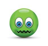 Sick emoji Stock Image