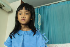 Sick girl Royalty Free Stock Photography