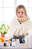 Sick and hopeless. Stock Photos