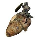 Sick Human Heart Stock Photos