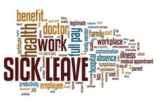 Sick leave Royalty Free Stock Photo