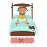 Sick little girl Royalty Free Stock Photo