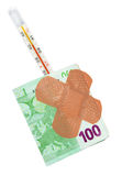 Sick money Stock Images