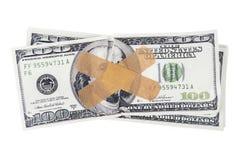 Sick money Stock Photography