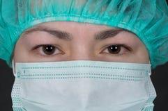 Sick-nurse Stock Images