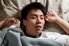 Sick person Stock Images