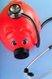 Sick Piggy Bank Royalty Free Stock Photos