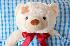 Sick teddy Stock Image