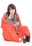 Sick woman Stock Photos