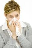 Sick woman Royalty Free Stock Image