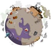 Sick World vector illustration