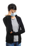 Sickness asian woman Stock Photography