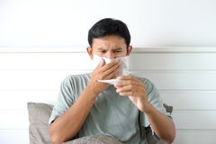 Sickness Royalty Free Stock Photos