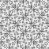 Sicksackbakgrundsvägg-papper, grå färgrök Arkivfoton