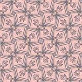 Sicksackbakgrundsvägg-papper, rosa färg Royaltyfri Bild