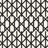 Sicksacken fodrar den geometriska sömlösa modellen Arkivfoto