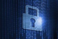 Sicurezza cyber Fotografie Stock