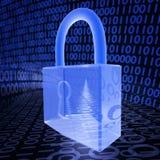 Sicurezza cyber Fotografia Stock