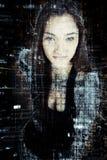 Sicurezza cyber b fotografie stock libere da diritti